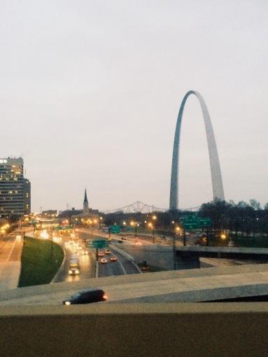 St Louis arch