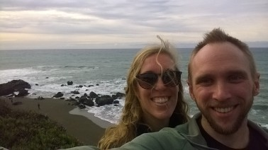 First at the Pacific Ocean!