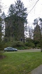 Water tower at Volunteer Park