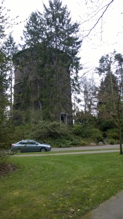 Water tower at Volunteer Park