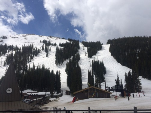 Loveland Basin in May