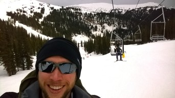 Having some private time on the lifts