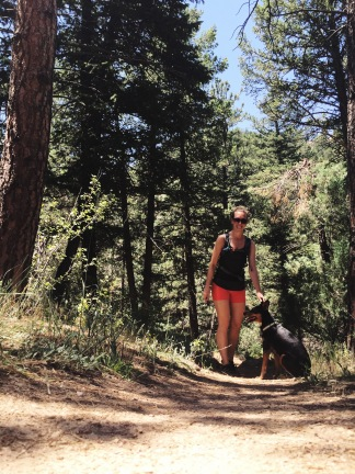 Second half of Eldorado Canyon Trail
