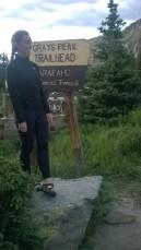 Grays Trailhead marker