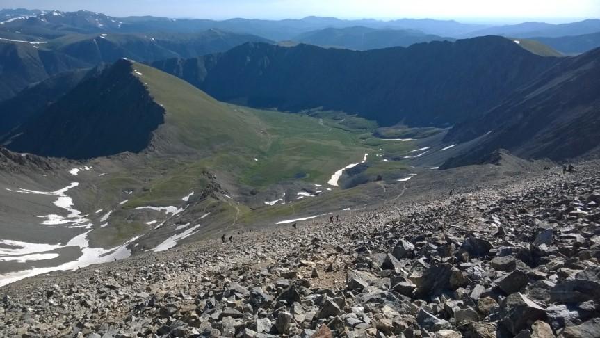 First 14er of 2016 – Grays Peak, East Sidehike