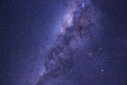 Milky Way, 30 second exposure; Southern Hemisphere