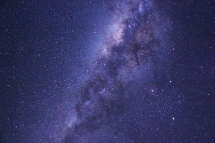 Milky Way, 30 second exposure; Southern Hemisphere