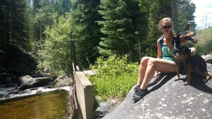 Creek along Smuggler Mountain Trail
