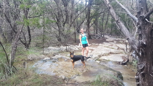 Cooling off on the Juniper Ridge Trail