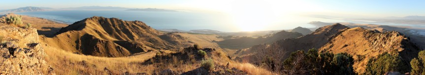Antelope Island Sunset Hike