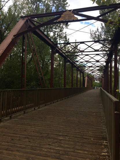 Train bridge walking path - Downtown Boise