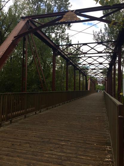 Train bridge walking path - Downtown Boise
