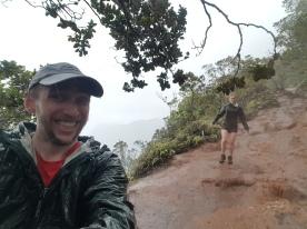 Downpour on Alakai Swamp Hike