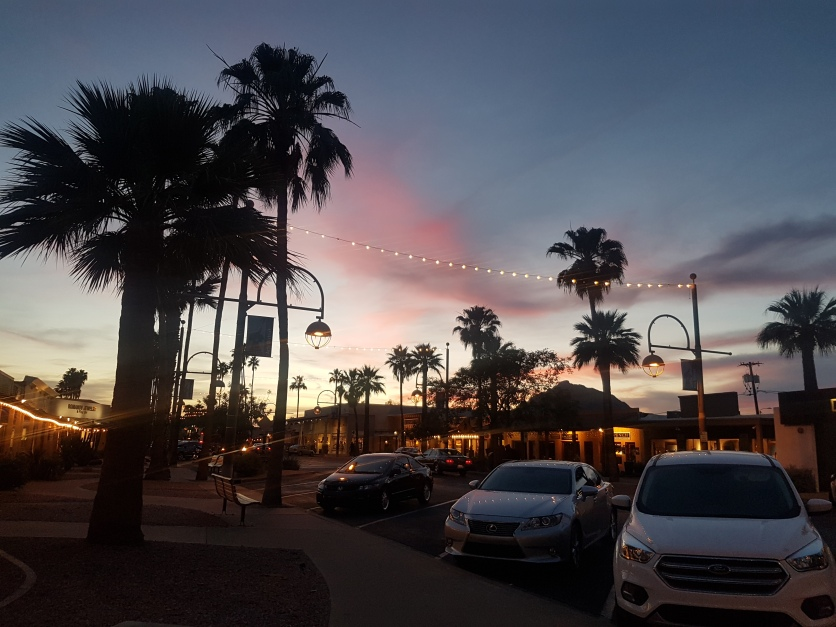 Sunset in Scottsdale
