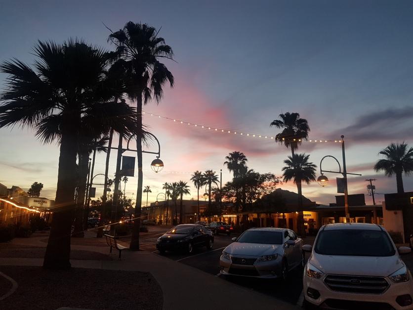 Sunset in Scottsdale