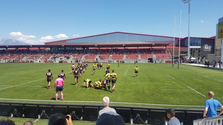 Utah Warriors Rugby Match