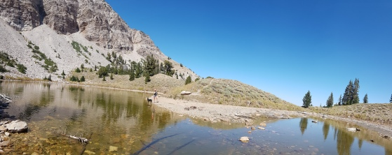 Willow Lake - Stansbury Crest Trail