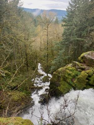 Top of Stassel Falls