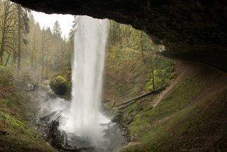 Behind Shellburg Falls