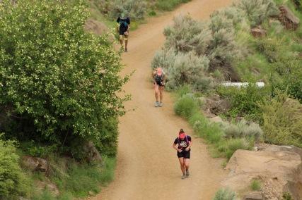 Steep climb at 30.8 miles
