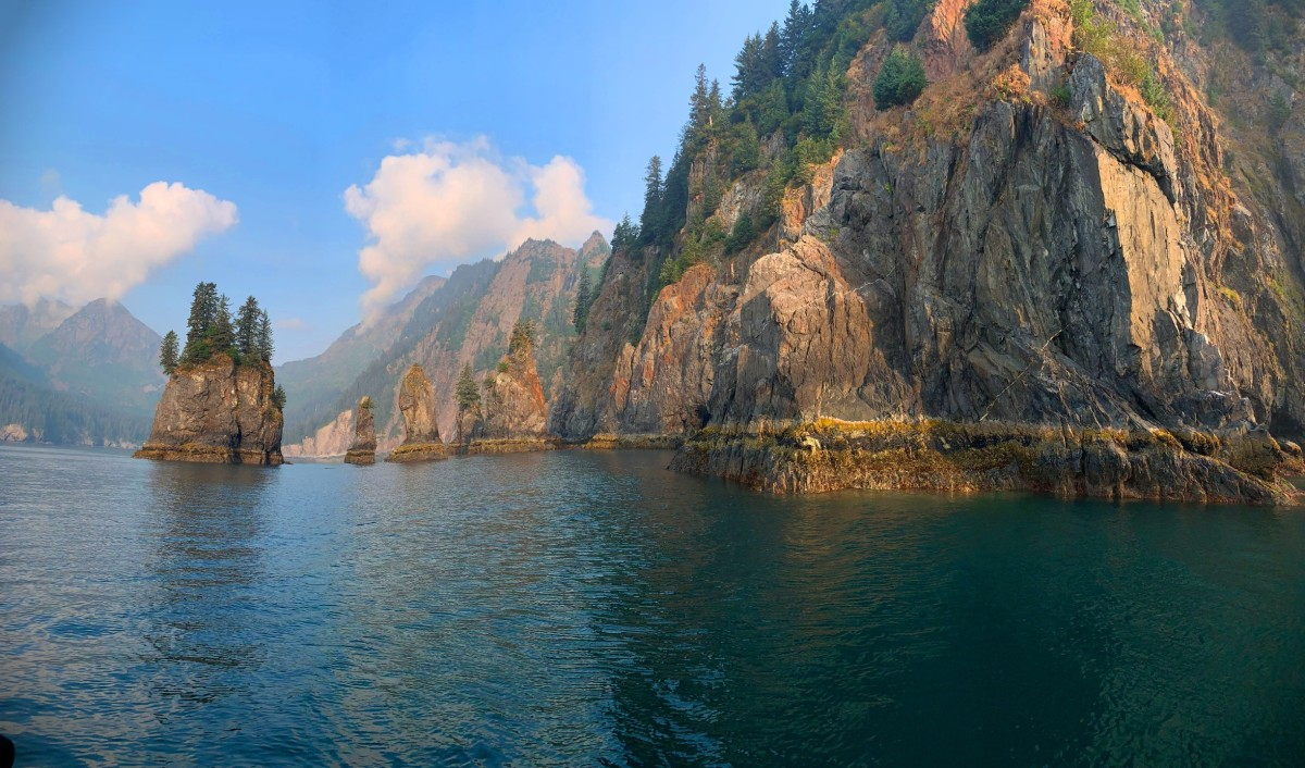 Alaska water adventures, Kenai Fjords
